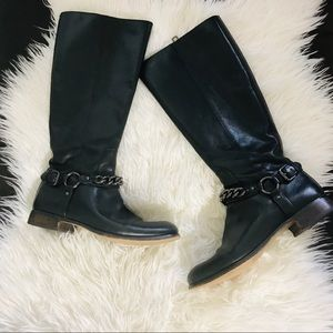 Coach Mabel leather boots